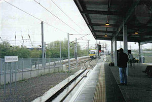 Heathrow Junction railway station - The station in 1998