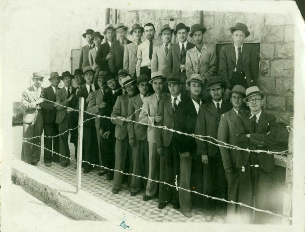 Hebron yeshiva students in Jerusalem