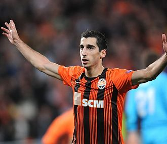 FC Shakhtar Donetsk - Henrikh Mkhitaryan was named the 2012 CIS Footballer of the Year and set the Ukrainian Premier League record for goals scored in one season (25).