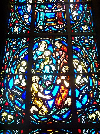 Charles Jay Connick - Heinz Chapel detail
