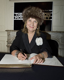 Baroness Helena Kennedy, barrister, broadcaster and member of the House of Lords.