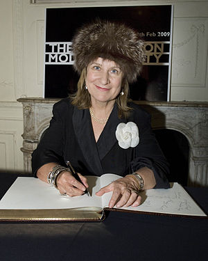 Helena Kennedy, Baroness Kennedy of The Shaws - Kennedy signing The Convention on Modern Liberty in January 2009