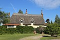 Hellmans Cross, Great Canfield, Essex, England - thatched cottage.JPG