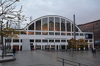Helsinki Art Museum - HAM is located in Tennispalatsi