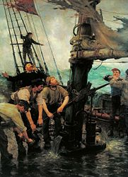 Henry Scott Tuke: All Hands to the Pumps