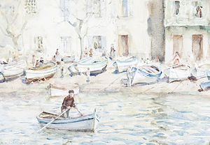 Henry Scott Tuke - Boats at Cassis.jpg