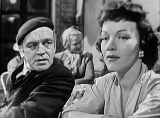 "Herbert Berghof - Herbert Berghof and Maria Riva in the Suspense episode ""Death Drum"" (1952)"