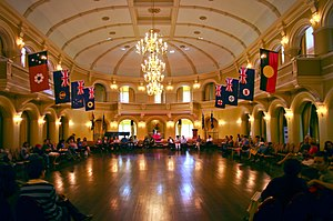 Government House, Perth - The ballroom 17 November 2011 for Heritage Day.