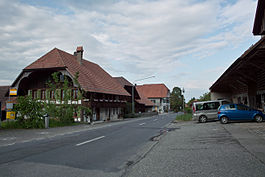 The village center of Hessigkofen