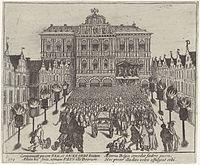 Het Twaalfjarig Bestand in Antwerpen afgekondigd - Twelve Years' Truce declared in Antwerp (Frans Hogenberg).jpg