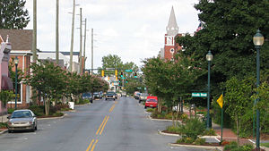 Seaford, Delaware - High Street in Seaford