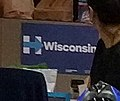 Hillary for Wisconsin sign at campaign HQ (29235791981).jpg