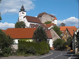 Hiltpoltstein Place in Bavaria, Germany