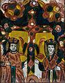 Hinterglasbild Die Heiligen Konstantin und Helena Nicula 19Jh.jpg