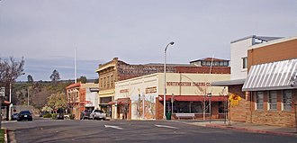 Oroville, California - Historic Downtown Oroville