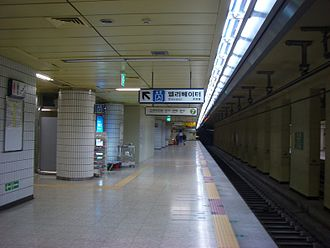 Hakdong station - Image: Hkdgst 02