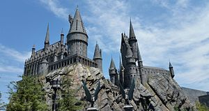 The Wizarding World of Harry Potter (Universal Studios Hollywood) - Image: Hogwarts Wizarding World of Harry Potter Hollywood
