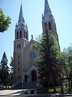 Holy Rosary Cathedral (Regina, Saskatchewan) - Image: Holy Rosary, 2008