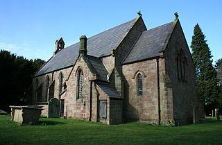 Holy Trinity Church, Bickerton Church in Cheshire, England