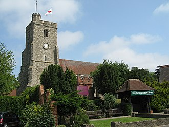 Rayleigh, Essex - Holy Trinity parish church