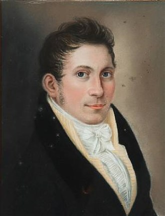 Hans Hansen (portrait painter) - Hans Hansen, portrait by Christian Horneman (1804)
