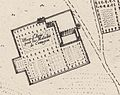 Sainte-Anne hospital in a 1672 site plan
