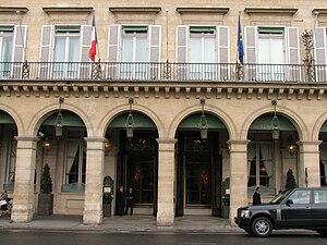 Le Meurice - Image: Hotel Meurice Paris