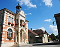 Hotel de Ville (Mairie-Townhall) at Payrac in beautyful building style - panoramio.jpg