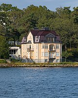House in Stockholm, as seen from the water.jpg