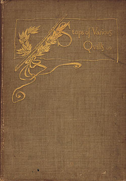Howells, Stops of Various Quills, 1895 cover.jpg