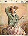 Hugo Kunz - Portrait Ruth Schaumann - Jugend Nr. 38, 1929.jpg