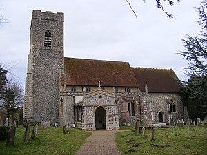 Huntingfield, Suffolk - Image: Huntingfield Church of St Mary
