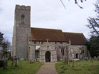 Huntingfield, Suffolk village in Suffolk, England