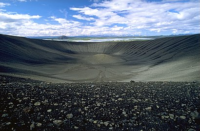 How to get to Hverfjall with public transit - About the place