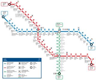 Hyderabad Metro Rapid transit system in Hyderabad, India