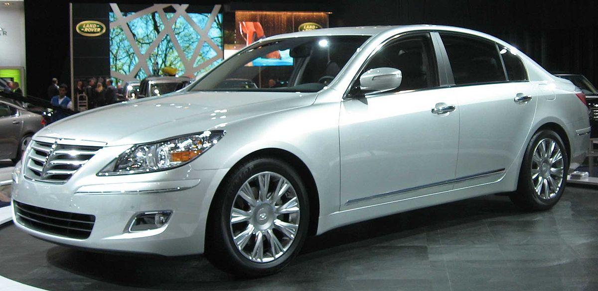Category Hyundai Genesis Wikimedia Commons