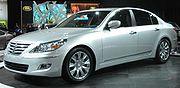 Hyundai Genesis sedan NY