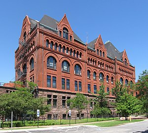 Illinois Institute of Technology - Main Building of the Armour Institute of Technology