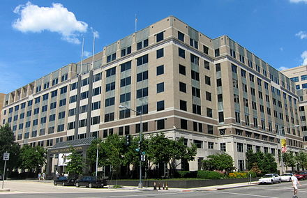 The National Education Association headquarters located at 1201 16th Street near the White House. INEA headquarters.JPG