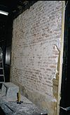 interieur, het afnemen van muurschilderingen - amersfoort - 20260078 - rce
