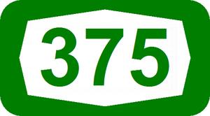 Route 386 (Israel) - Image: ISR HW375