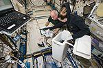 ISS-48 Jeff Williams and Kate Rubins in the Kibo lab.jpg