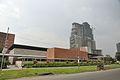 ITC Sonar and Royal Bengal Hotel Under Construction - Eastern Metropolitan Bypass - Kolkata 2016-08-25 6251.JPG