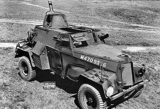 Humber Light Reconnaissance Car - Humber LRC Mk IIIA