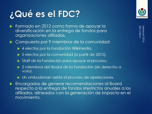 Iberoconf 2014 - Funds Dissemination Committee.pdf