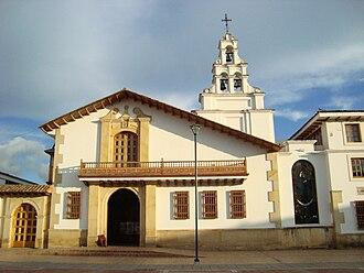 Chiquinquirá - Image: Iglesia de la renovación