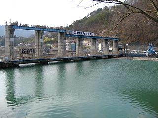 Ikusaka Dam Dam in Ikusaka, Nagano, Japan