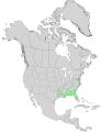 Ilex ambigua range map 0.png