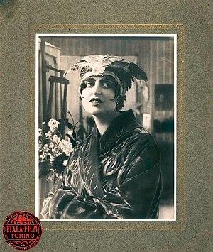 Pina Menichelli - Pina Menichelli in The Fire (1916)