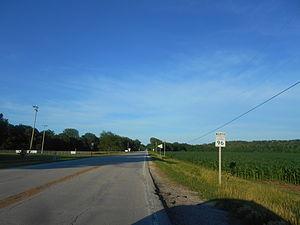 Illinois Route 96 - IL 96 in Lomax